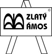 Logo soutěže Zlatý Amos