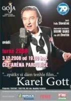 plakát Karel Gott - Zpátky si dám tenhle film