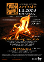 Plakát svátku Samhain