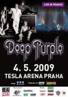 Plakát koncertu Deep Purple