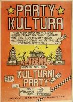 Párty kultůra - plakát
