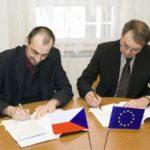 Podepsána další smlouva na evropský projekt