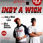 Pitch a black – Indy a Wich!