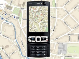 Mapa města Chrudim do mobilního telefonu
