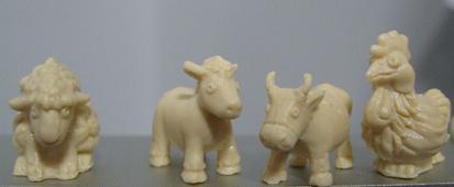 Černá ovce - figurky