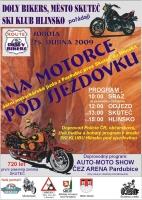 Na motorce pod sjezdovku