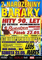 Baraka Bar slaví druhé narozeniny