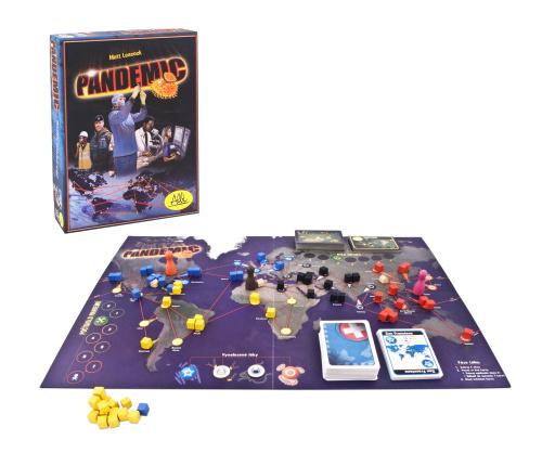 Pandemic - rozehraná desková hra Albi