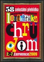 58. loutkářská Chrudim - plakát akce