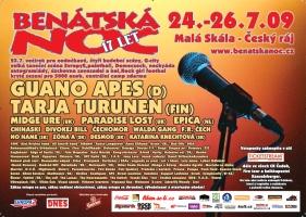 Festival Benátská Noc Malá skála