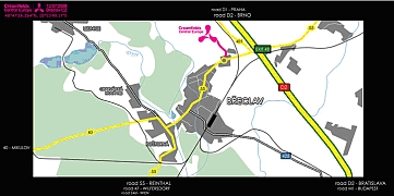 Informace a pokyny pro návštěvníky - mapa 2