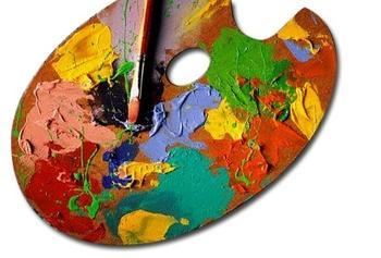 Paleta umění, ilustrační foto