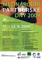 Mezinárodní partnerské dny - plakát