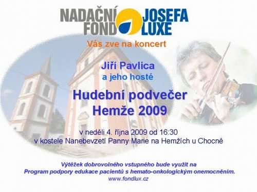Koncert J. Pavlica