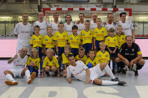 Mužstvo FK ERA-PACK Chrudim, foto: (c) 2009 Jaromír Zajíček, www.FotoZajda.cz