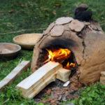 Stavba keltských pecí