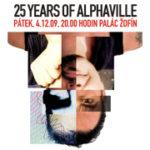 Přijďte oslavit 25. narozeniny skupiny ALPHAVILLE