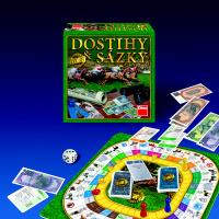 Desková hra - Dostihy a sázky