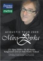 Acoustic tour Miro Žbirka 2009
