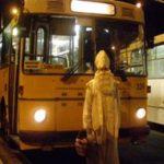 Mikulášská nadílka v historickém trolejbusu