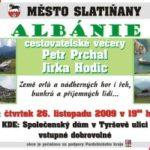 Cestovatelské večery – Albánie