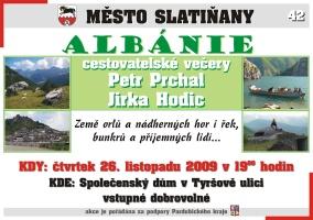 Cestovatelské večery - Albánie