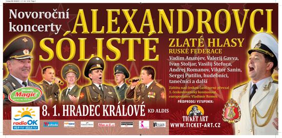 Alexandrovci sólisté - Novoroční koncerty