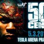 Rapper 50 Cent opět v Praze