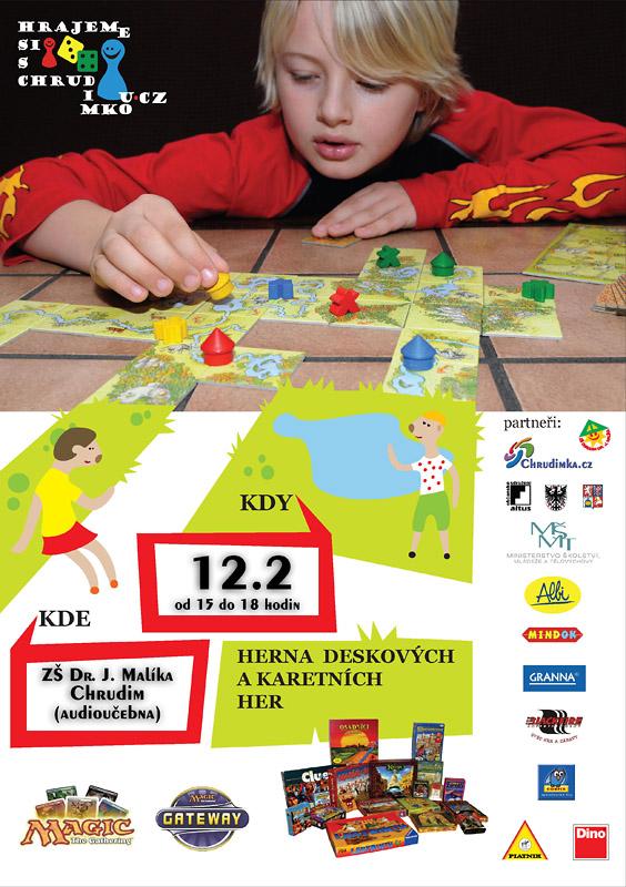 Únorová herna - Hrajeme si s Chrudimkou