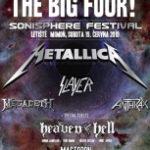 Metallica a spol. přivezou největší festivalové pódium