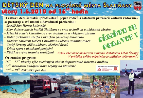 Dětský den ve Slatiňanech
