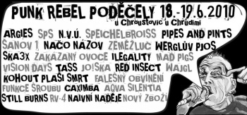 PUNK REBEL PODĚČELY