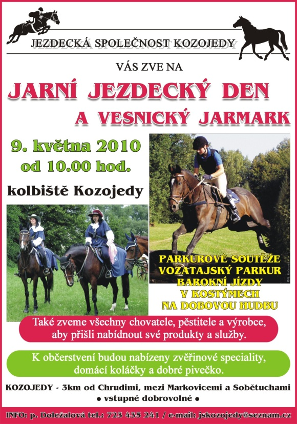 Jezdecký den v Kozojedech