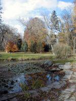 Městský park Chrudim