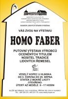 Výstava HOMO FABER