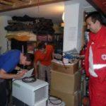 Chrudimský červený kříž pomáhá při povodních