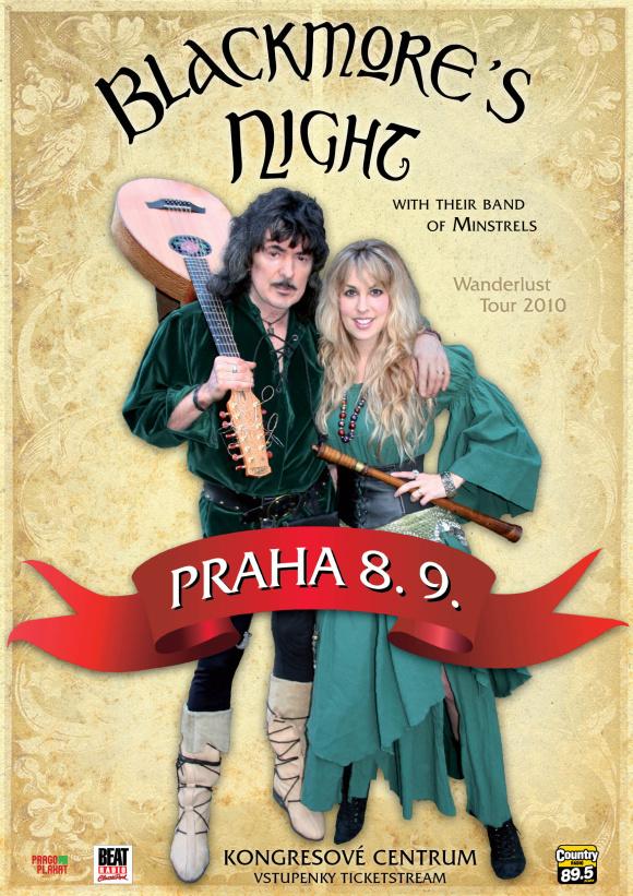 Blackmore's Night se vrací do Prahy