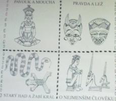 čtyřlístek afrických pohádek
