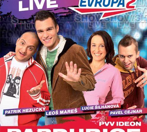 Xindl X & Olga Lounová hosty pardubické show Evropy2