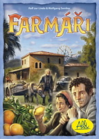 Desková hra Farmáři - dárek pod stromeček od Albi