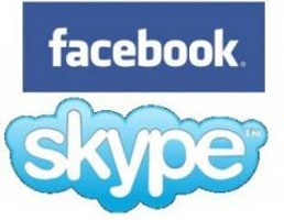 Skype a Facebook v jednom