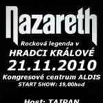 Skotští Nazareth zakončí své Česko-Slovenské turné v Hradci Králové!