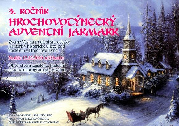 Hrochovotýnecký adventní jarmark - 3. ročník