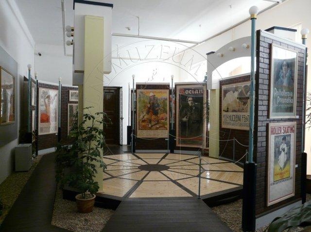 Umělecký plakát, foto: Regionální muzeum Chrudim