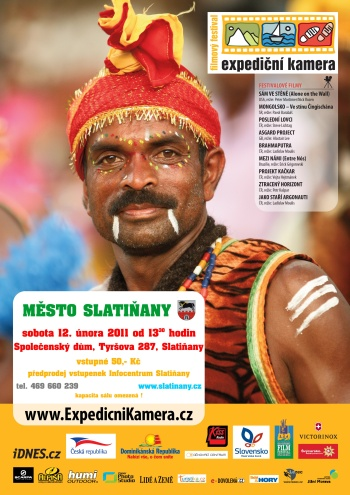Expediční kamera 2011 - plakát