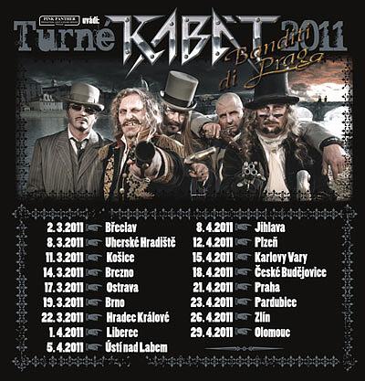 KABÁT  Banditi di Praga Tour 2011  907c561f6f4