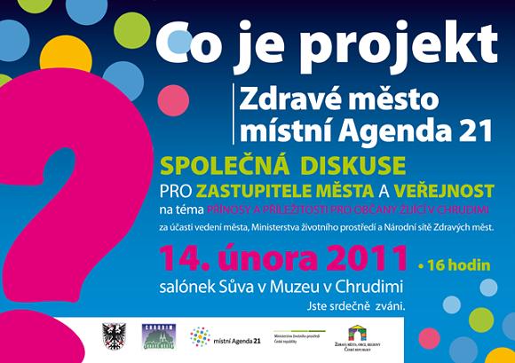 Co je projekt Zdravé město a místní Agenda 21