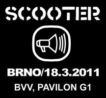 Hvězdní Scooter v Brně