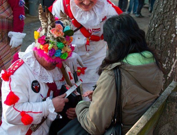 Masopustní masky v akci