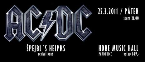 Už jste slyšeli AC/DC - Špejlbl´s Helprs?